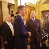 Dayton, GOP leaders announce budget deal, MN Legislature in special session (with AUDIO)