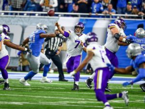 Vikings beat Lions behind Keenum