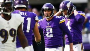 Vikings finalize kicker position, make other moves