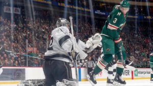 Wild lose to Kings in overtime in St. Paul